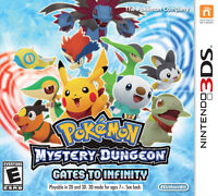 3DS Pokemon Mistery dungeon Gates to infinity (VENTE / ÉCHANGE)