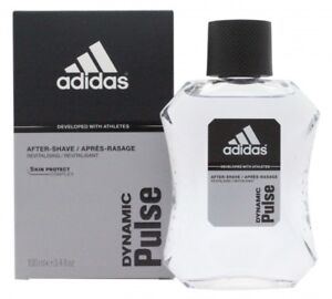 ADIDAS DYNAMIC PULSE AFTERSHAVE 100ML SPLASH - MEN'S FOR HIM. NEW