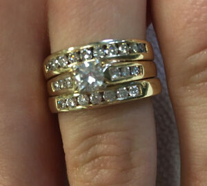 Gorgeous Set Of 3 Rings