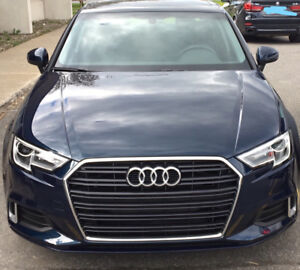 Audi A3 2017 Blue Cosmos Lease Transfer - Transfert de Bail