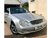 2004 Mercedes-Benz CLK 200K Avantgarde 2dr Tip Auto CONVERTIBLE Petrol Automatic