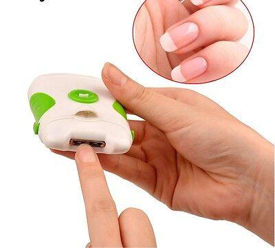 Clipper Electric Nail Trimmer Dual-use Clipper Cutter Manicure Pedicure File New