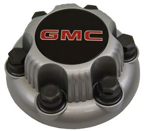 4x center caps gmc 6 bolts