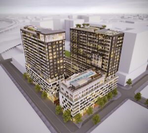 Rent NEW (2018) Condo 3 1/2 + Big Balcony -Griffintown-POOLS-GYM