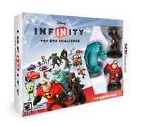 Disney Infinity Nintendo 3DS jeu + figurines + dock new