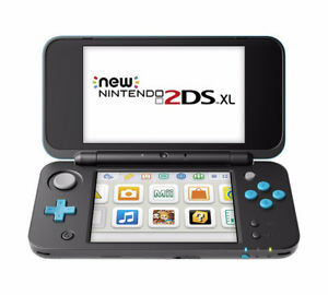 Brand New in Sealed Box New Nintendo 2DS XL - Black + Turquoise