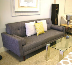 Grey Sofa Bed with 2 Pillows for only $349