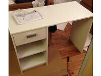 White desk [dismantled]