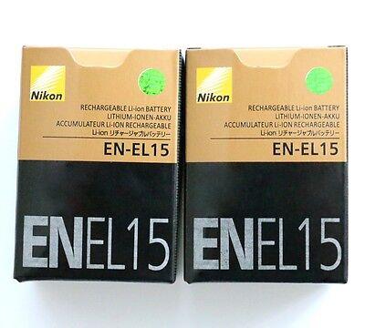 Батареи 2 X EN-EL15 New battery