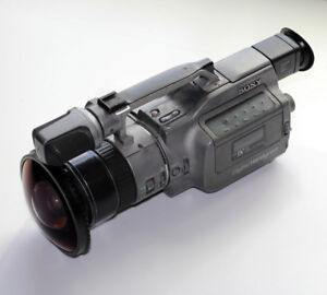 Sony VX1000 3CCD Camcorder with Fisheye