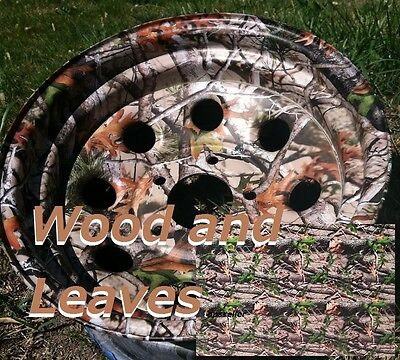 Dipping Hydrographics Film Water Transfer Printing Wood Leaves Camo 19x39 Pva