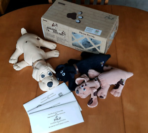 1980's vintage Pound Puppies lot