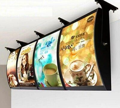 4 Custom Printed A2 Slim Led Light Box Poster Display -advertising Menu Board