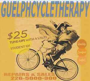 CYCLETHERAPY: Bicycle Repairs & Sales