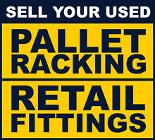 WE BUY USED PALLET RACKING AND SHOP FITTINGS Rowville Knox Area Preview