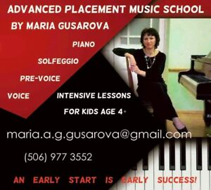 ADVANCED PLACEMENT MUSIC SCHOOL BY MARIA GUSAROVA