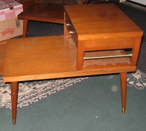 Solid walnut end tables Peterborough Peterborough Area image 4