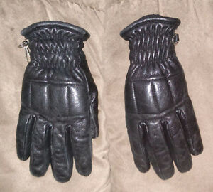 Ladies Leather Ski Gloves