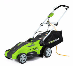 Electric Lawn Mower and Trimmer