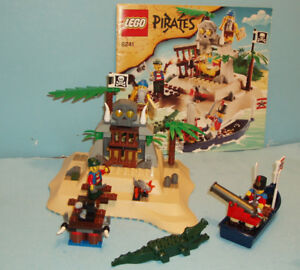 LEGO PIRATES no 6241, le LOOT ISLAND