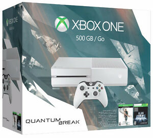 BRAND NEW SEALED BOX XBOX ONE QUANTUM BREAK BUNDLE+2 GAMES