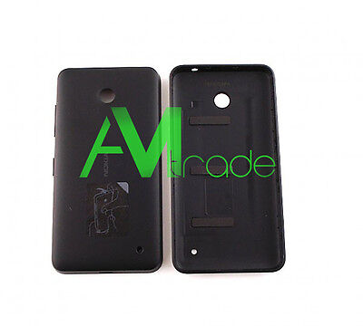 SCOCCA Back Cover Copribatteria posteriore Nokia LUMIA 630 635 NERO ORIGINALE