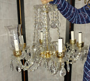 Chandelier Antique 6 candles from Estate Sale only $150