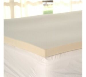 Memory foam mattress topper surmatelas Queen mousse mémoire
