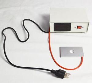 110V Microscope Temperature Control Stage Slide Warmer 025023