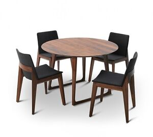 Canyon Round Dining Table With Dinner Chairs Kingston South Canberra Preview