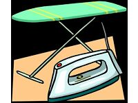 IRONING - £25 per black bag