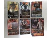 The Mortal Instruments by Cassandra Clare - SET OF 6 BOOKS