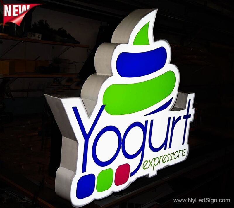"""New Led Channel Letter Logo 30"""" - Custom made - Any size - Any Shape"""