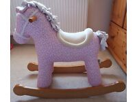 Pink Rocking Horse (IMMACULATE condition - looks brand new)