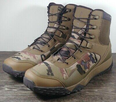 Under Armour Valsetz RTS Men's Size 13 Tactical Boots 1250234-951 Camo/Brown