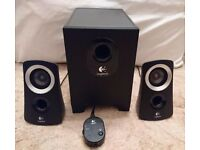 Logitech Z313 Speaker System (2.1) for PC / general use