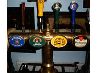 GENUlNE BEER PUMPS F0R THE MAN CAVE, PUB SHED, HOME BAR, POOL TABLES, REAL ALE, BREWERIANA, HOBBIES