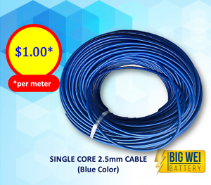 2.5mm Single Core Color Cables on Sale! Pure Cooper! Slacks Creek Logan Area Preview
