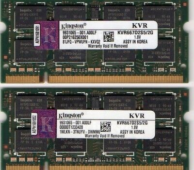 2x2GB memory M1730  Notebook B2 4GB KIT RAM for Dell XPS M1530