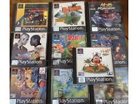 PlayStation One and Xbox Games