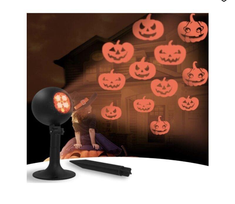 Auxiwa Halloween Pumpkin Projector Light