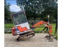 Kubota mini digger swap 4x4 tractor