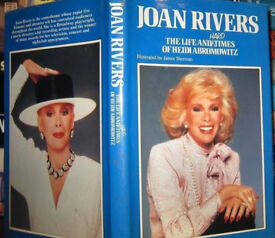 The Life and Hard Times of Heidi Abromowitz Hardback Book by Joan Rivers.