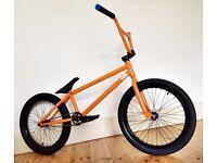 ONE OF A KIND Custom Build: KIS Dark frame w/ top quality Eclat WeThePeople etc parts BMX bike