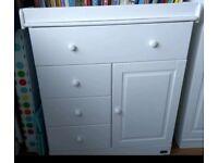 Tutti bambini nursery furniture - Chest of drawers