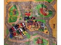 Cars, bikes and play mat