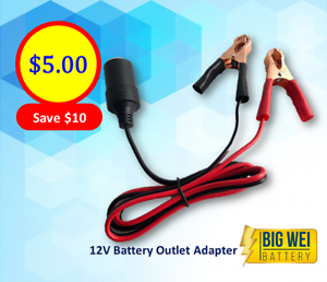 12V Battery Outlet Adapter Slacks Creek Logan Area Preview
