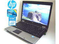CAN DELIVER - HP Compaq 15.4inch - Webcam - Intel C2D 5.0GHz - 3Gb - 250Gb - Office - Wifi