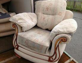 Free sofa, two armchairs and a two seater