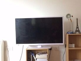"""White Bush 40"""" TV - Used for 3 years"""